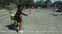 Cardio Tennis at the St. Petersburg Tennis Center