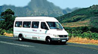 Shuttle Transfers from Cape Town Airport Shared Departure Transfer
