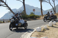 Cape Winelands Tour by Chauffered Sidecar