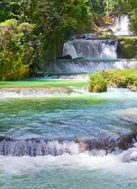 Ocho Rios Green Grotto Caves plus Dunn's River Falls