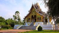Full-Day Pak Ou Caves and Mekong River Bike and Boat Tour from Luang Prabang
