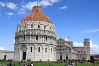 Cultural Walking Tour of Pisa with Leaning Tower of Pisa Entry Ticket