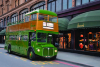 London Vintage Bus Tour with Afternoon Tea and Cha