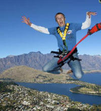Queenstown Ledge Urban Bungy Jump