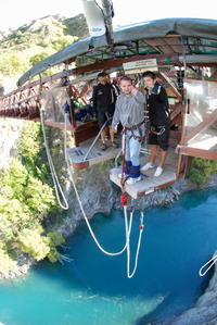 The Original Kawarau Bridge Bungy Jump in Queenstown