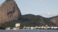 Rio de Janeiro Super Saver: Guanabara Bay Cruise with Barbecue Lunch, Christ the Redeemer and Selaron Steps by Van image 1