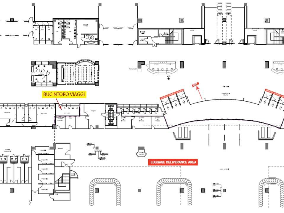 Map of Venice Marco Polo Airport Private Arrival Transfer