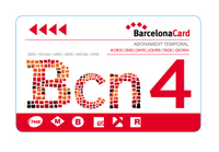 Carte Barcelone Guide with - Barcelone -