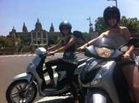 Barcelona Scooter Tour