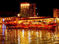 Ho Chi Minh City Bonsai Dinner Cruise on Saigon River