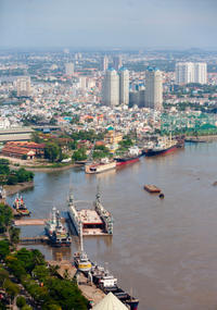 Private Ho Chi Minh City Transfer: Hotel to Phu My Port