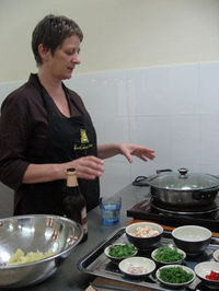 Vietnamese Cooking Class at Hanoi's Cooking Centre