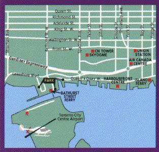 Map of Private Tour: Romantic Toronto Helicopter Ride