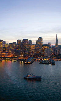 Valentine's Deluxe Dinner and Dance Cruise on San Francisco Bay
