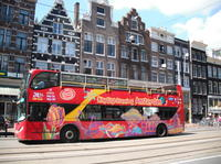 Amsterdam Hop On Hop Off Tour with Optional Canal Cruise