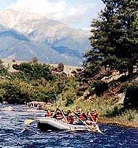 Browns Canyon Rafting in Colorado