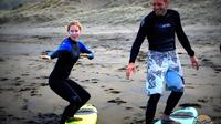 Private Tour: Full-Day Surf Lesson and Lunch at Piha Beach from Auckland