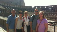 Multimedia Colosseum small group tour