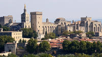 Full Day Avignon Private Tour of Pope's Palace and Chateauneuf du Pape from Nice