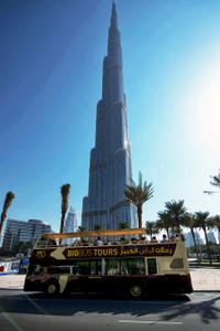 Dubai and Abu Dhabi Super Saver: Hop-On Hop-Off Sightseeing Tours