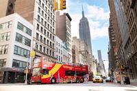 New York City Hop-On Hop-Off Bus Tour with optional Statue of Liberty Ticket