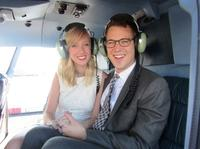 Married Over Manhattan: Helicopter Wedding in New York City Picture