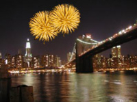 Silvester Bootsfahrt in New York City