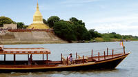 1-Hour Shared Boat Sunset Cruise in Old Bagan Including Welcome Drink
