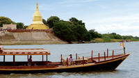 Private Sunset River Cruise to Stone Cave Pagoda from Bagan