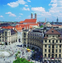 Hop-on-Hop-off-Tour durch München