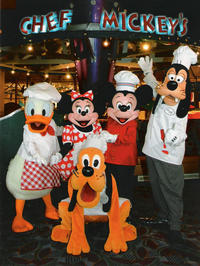 Christmas Day Breakfast or Dinner at Chef Mickey's in Walt Disney World® Resort