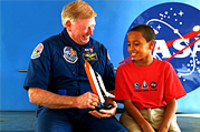 Dine with an Astronaut: Kennedy Space Center Tour from Orlando with Lunch
