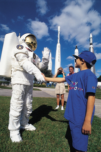 Kennedy Space Center from Orlando: Ultimate Space Experience Including Lunch with an Astronaut