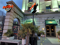 Hard Rock Cafe...