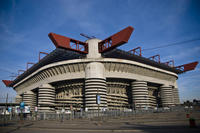 Milan Football San Siro Stadium