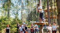 Saint Petersburg Morning Ziplining in the Rope Park