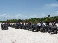 ATV Tour of the Mayan Caribbean
