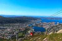 Bergen Shore Excursion: City Sightseeing Bergen Hop-On Hop-Off Tour