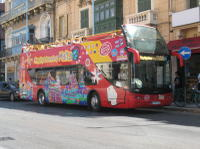 Malta Shore Excursion: City Sightseeing Malta Hop-On Hop-Off Tour