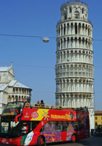 Pisa City Hop-on Hop-off Tour