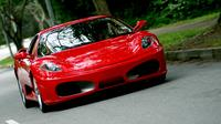Self-Drive Ferrari Sports Car Experience for Two with Gourmet Lunch  image 1