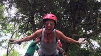 Mindo Zip Lining, Butterfly Farm and The Hummingbirds Shared Tour from Quito image 1