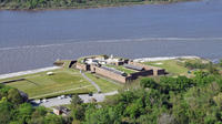 Downtown Savannah and Old Fort Jackson Helicopter Tour