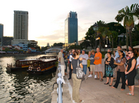 Singapore Boat Quay Historical Pub Walking Tour