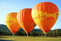 Hot Air Ballooning including Champagne Breakfast from the Gold Coast or Brisbane