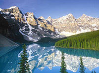Mountain Lakes and Waterfalls Day Trip from Banff