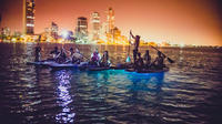 Small-Group Tour: LED Cartagena Sunset Paddle Board