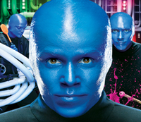 Blue Man Group Show im Universal Orlando Resort