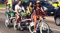 Acapulco CIty and Food Tour on a Tandem Bicycle