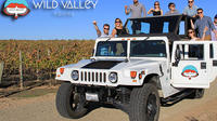 Winery Tour in Open Air Hummer
